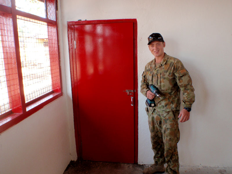 Operation Boss Lift, Kurt Moroney from Buildingwise, Australian Army-4. Newcastle Program Participants, representing the Australian Army.